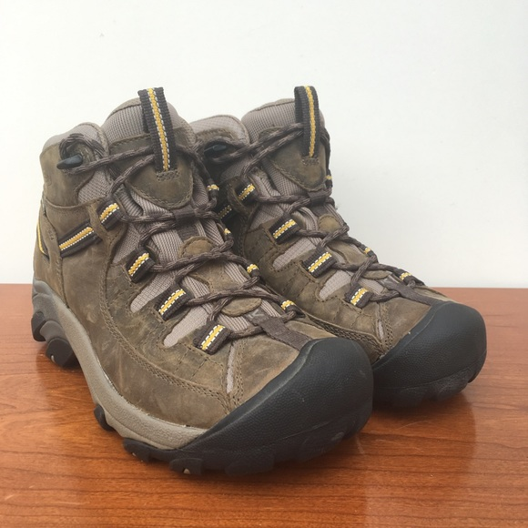 0d860df2849 (7M) Keen Dry Brown Hiking Boots Lace Up REI
